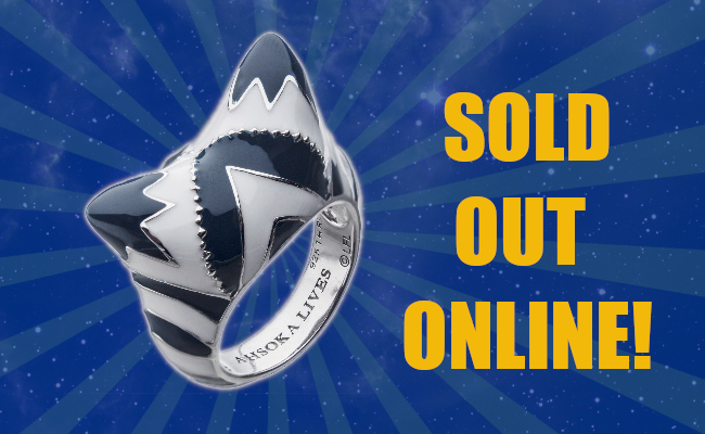Ahsoka Ring Sold Out Online