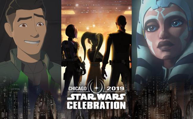 Star Wars Animation panels
