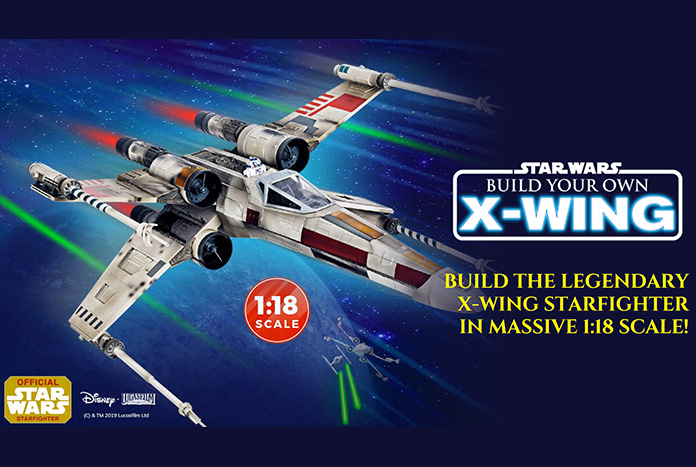 Build Your Own Star Wars XWing Model