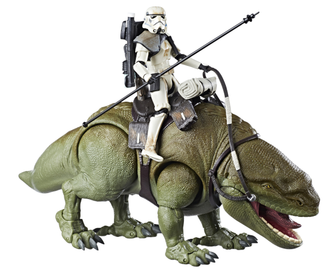 Star Wars The Black Series 6 Inch Dewback and Sandtrooper Action Figure