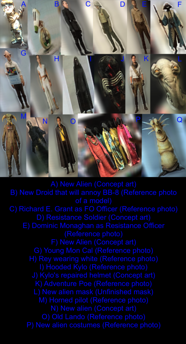 EPISODE IX Costumed Characters