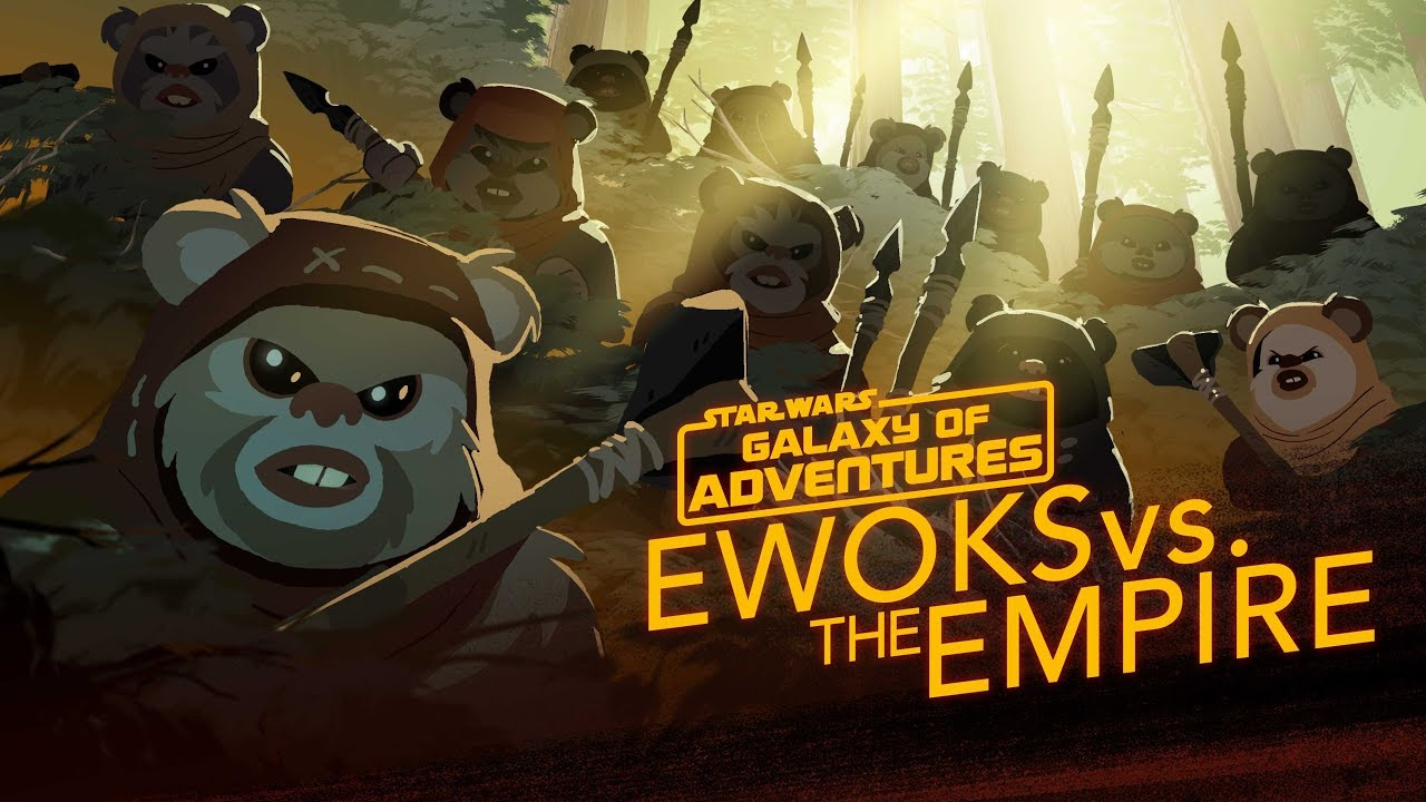 Ewoks vs The Empire Small but Mighty Star Wars Galaxy of Adventures