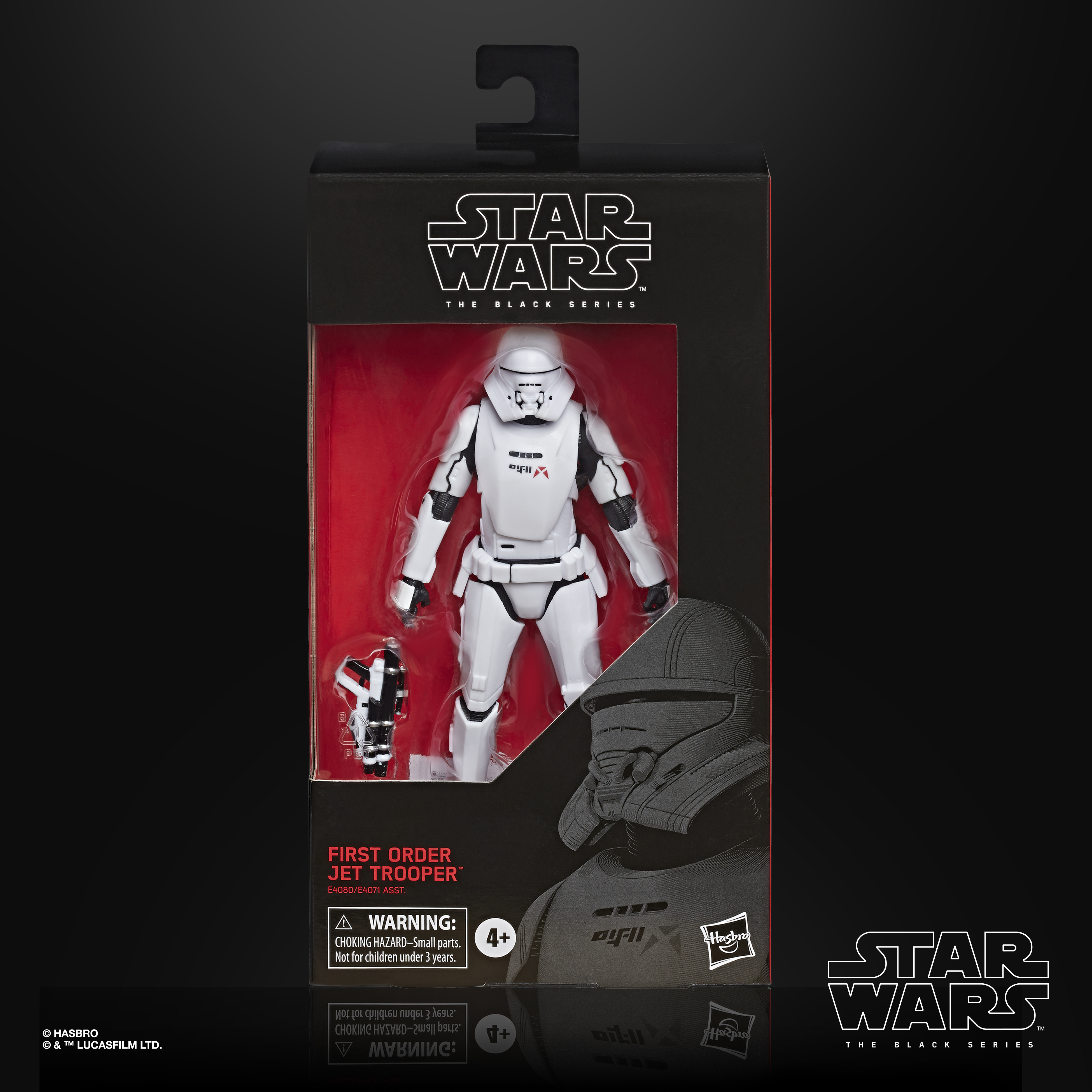 STAR WARS THE BLACK SERIES FIRST ORDER JET TROOPER