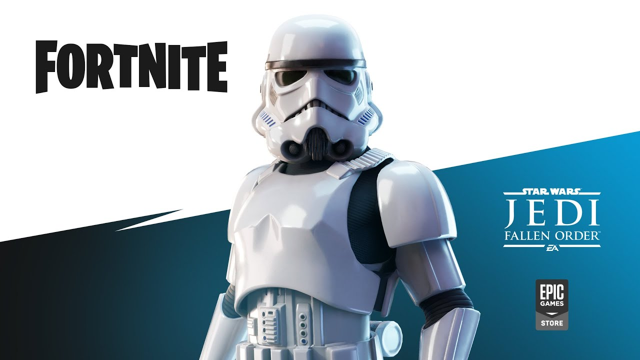 The Imperial Stormtrooper Available In Fortnite