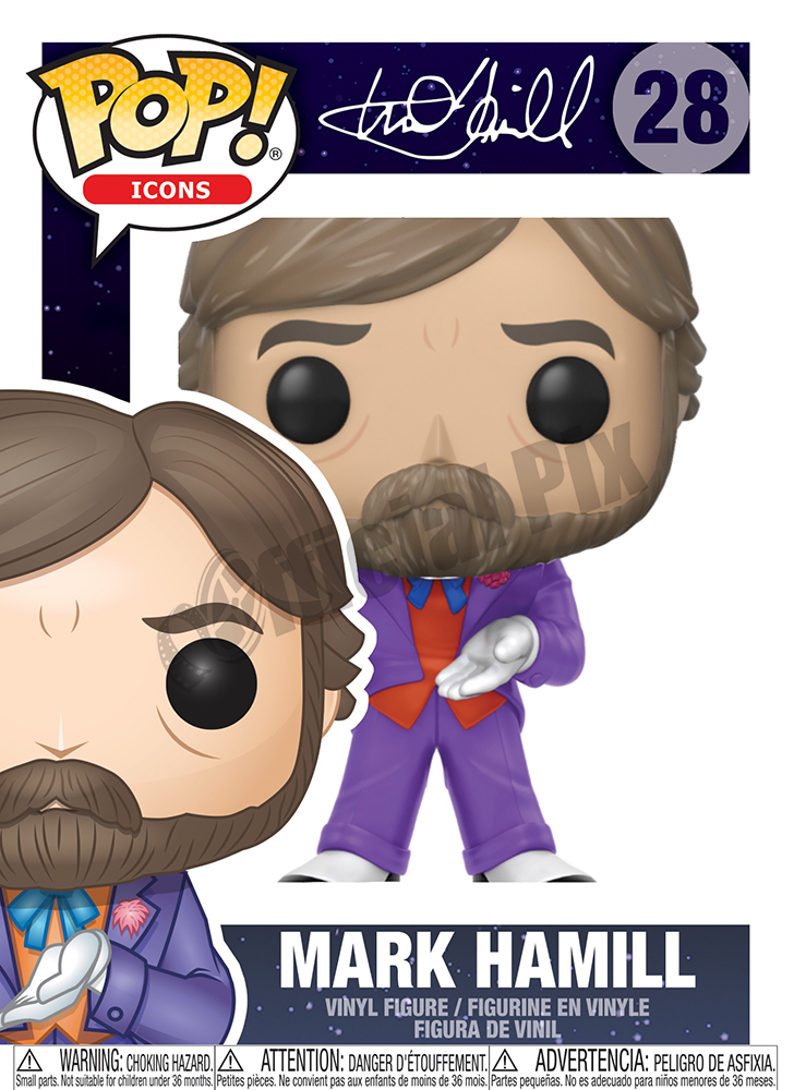 Mark Hamill Funko POP Icons