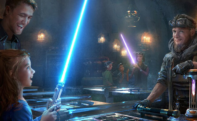 Handbuilt Lightsabers From Savis Workshop In Galaxys Edge Disneyland