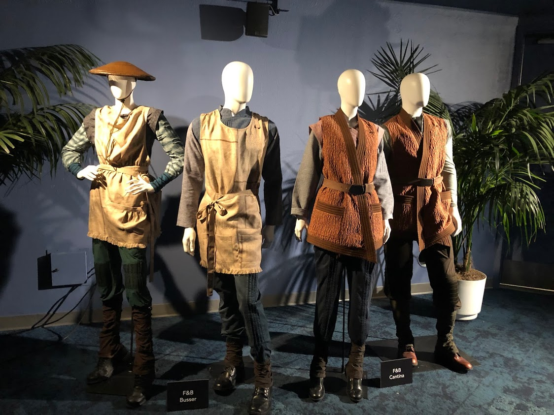 Galaxy's Edge Staff Costumes Revealed