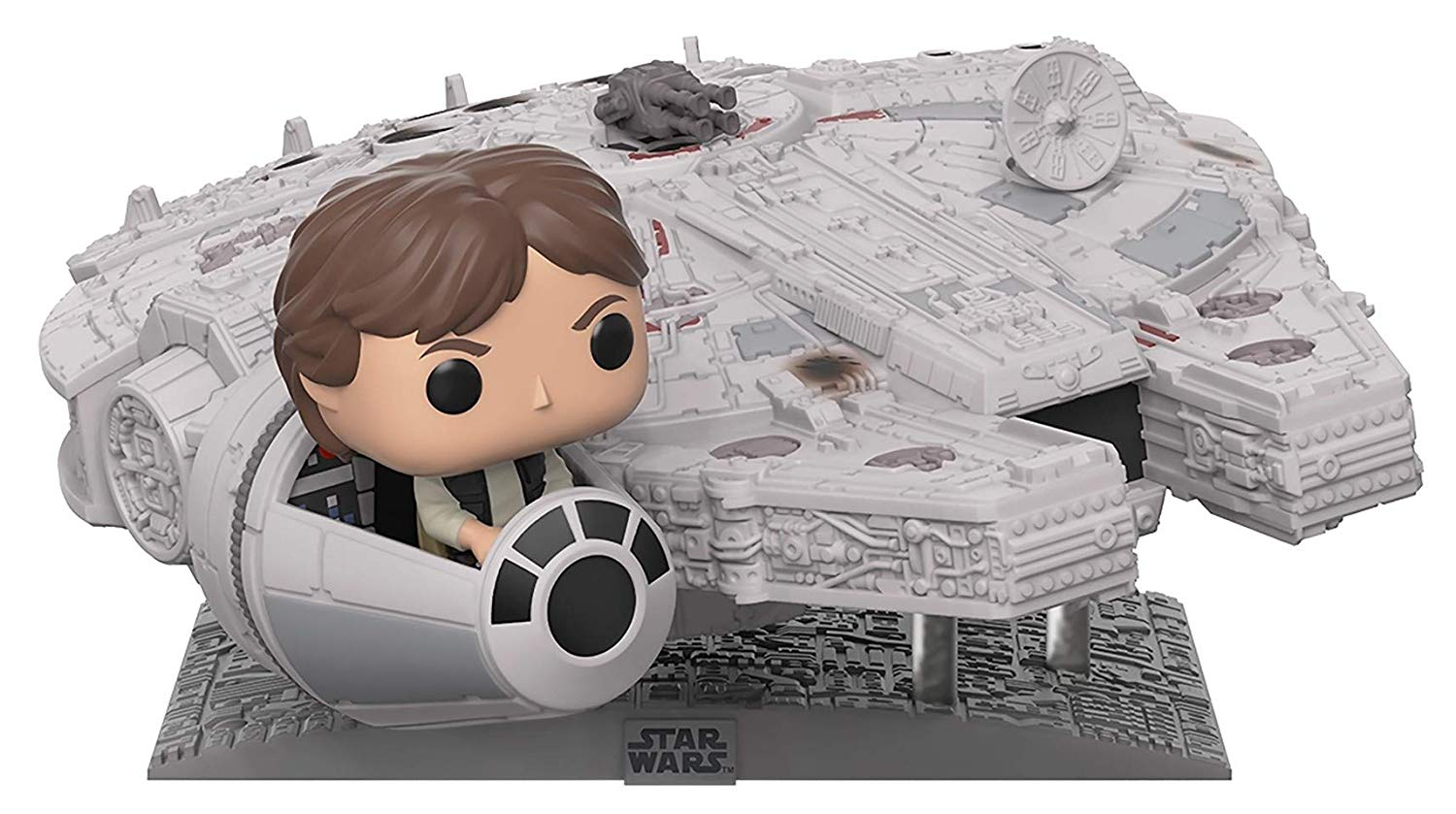 Amazon Prime Day Star Wars Exclusive Features Funko Pop Deluxe Millennium Falcon With Han Solo
