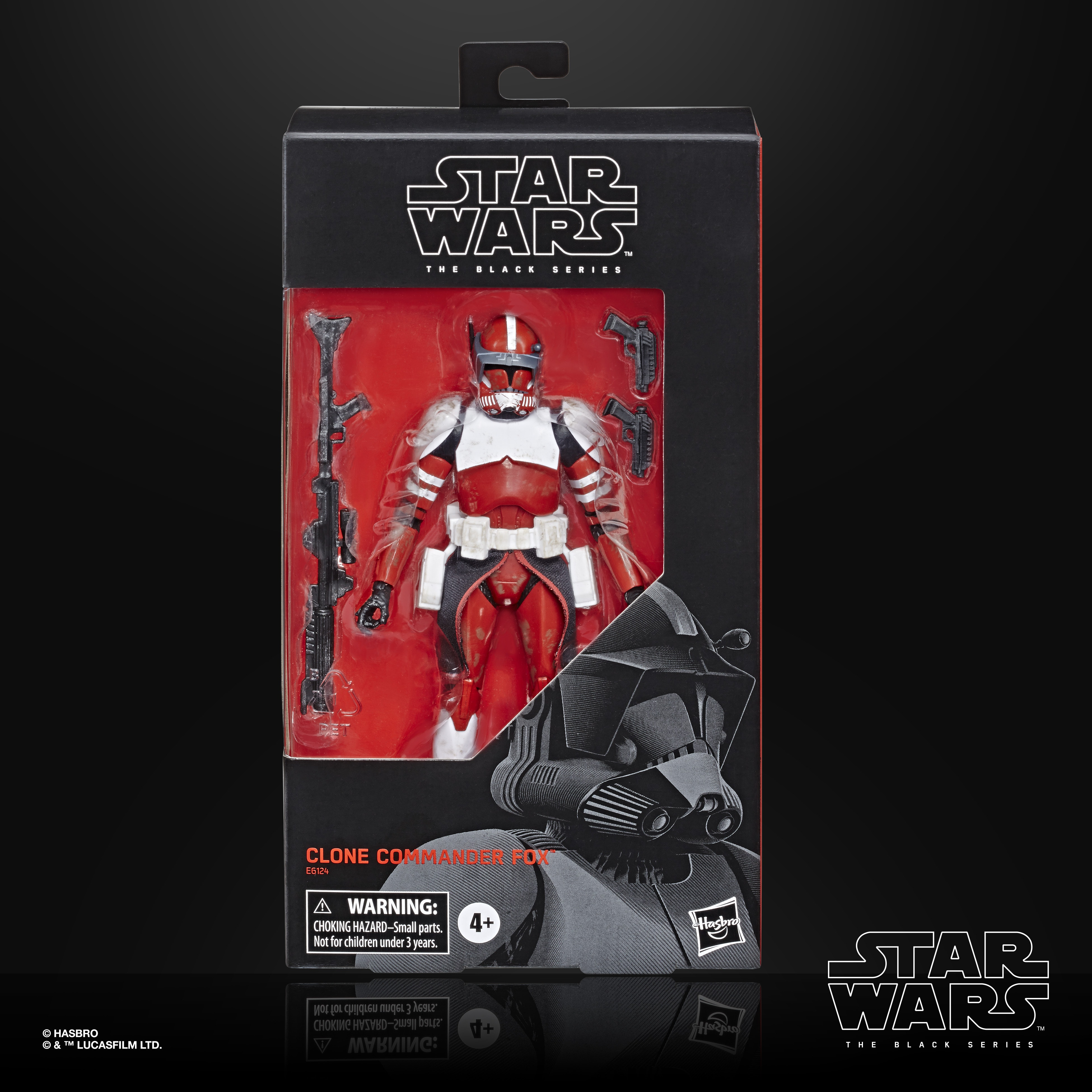 STAR WARS THE BLACK SERIES CLONE COMMANDER FOX