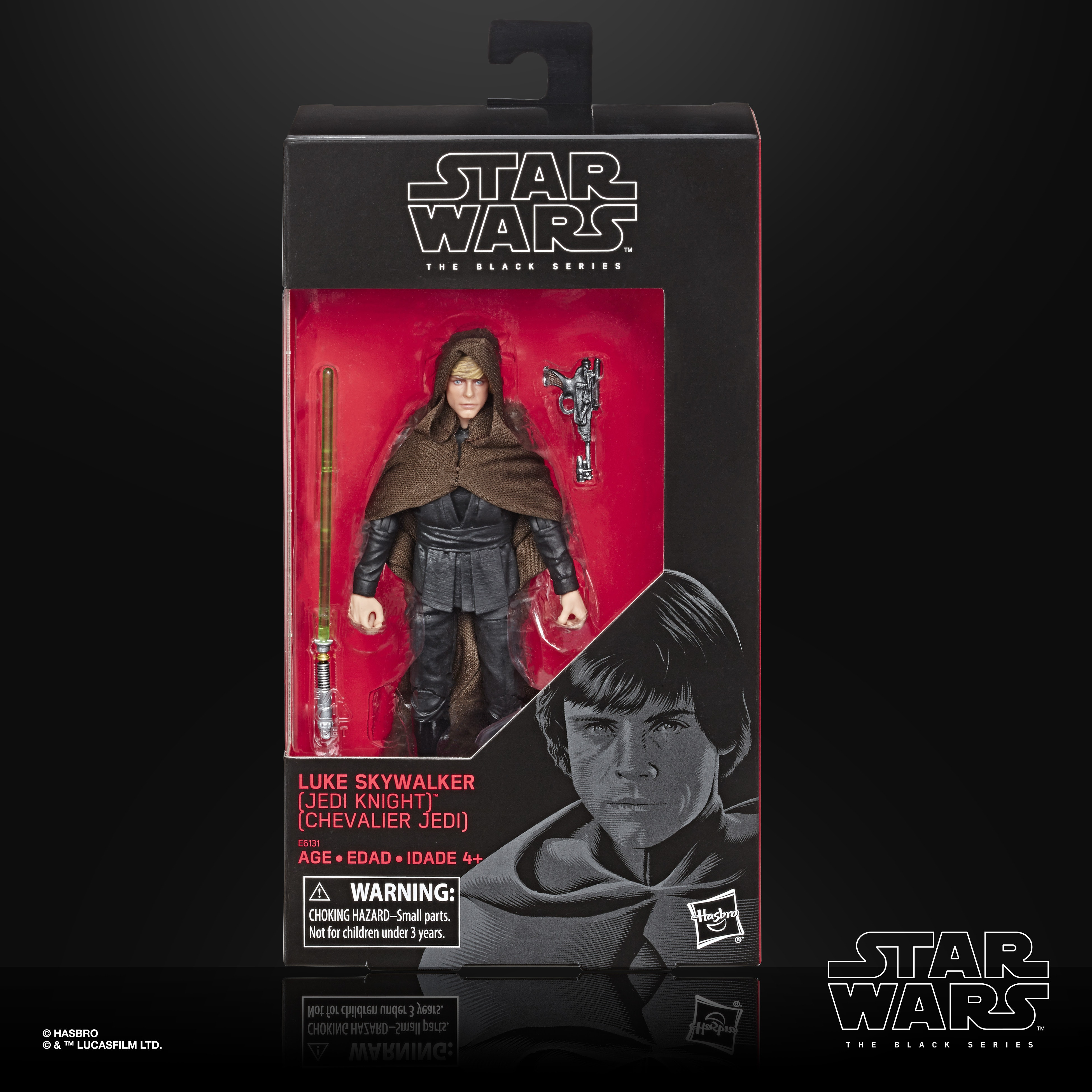 STAR WARS THE BLACK SERIES LUKE SKYWALKER Jedi Knight