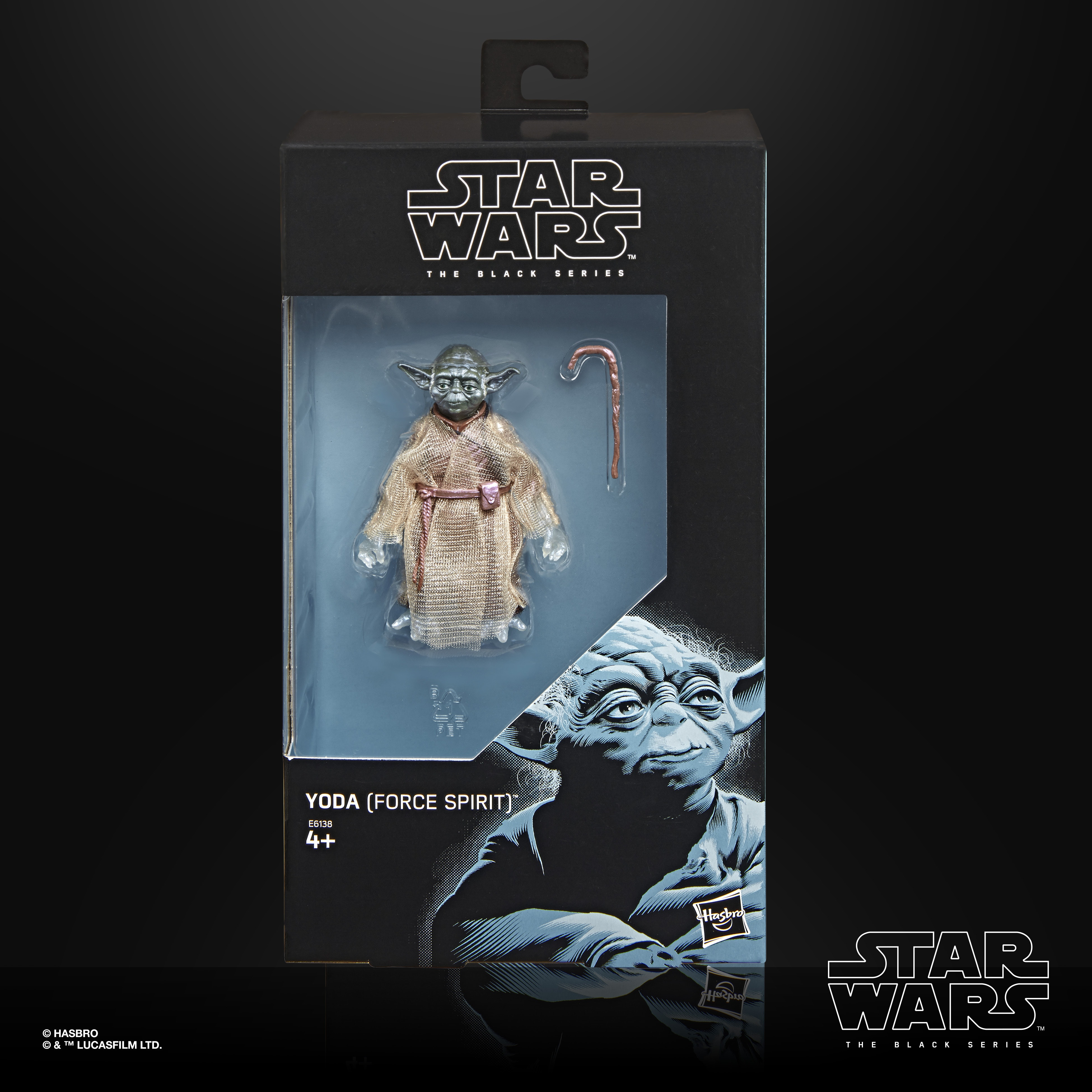 STAR WARS THE BLACK SERIES Yoda Force Spirit