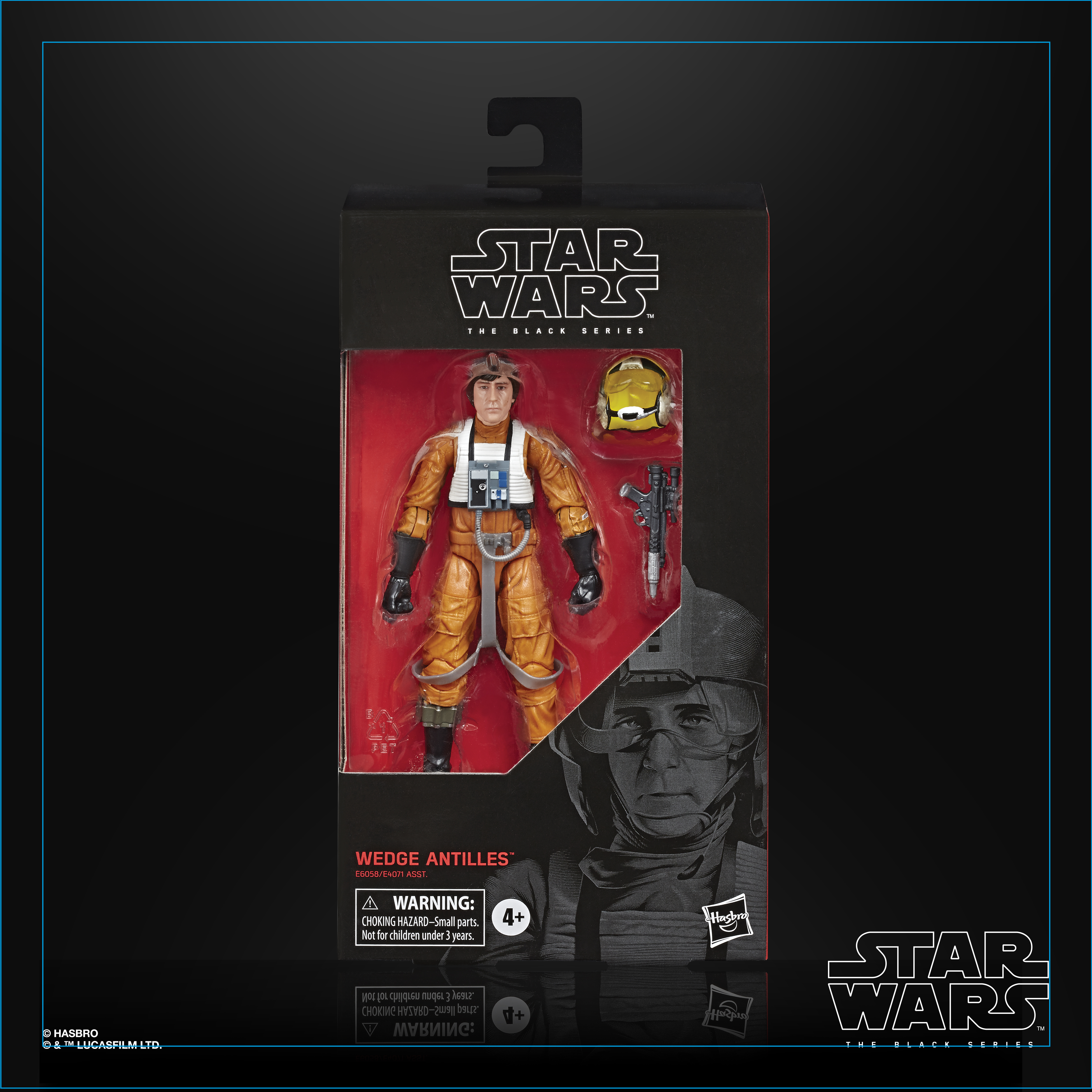 STAR WARS THE BLACK SERIES WEDGE ANTILLES