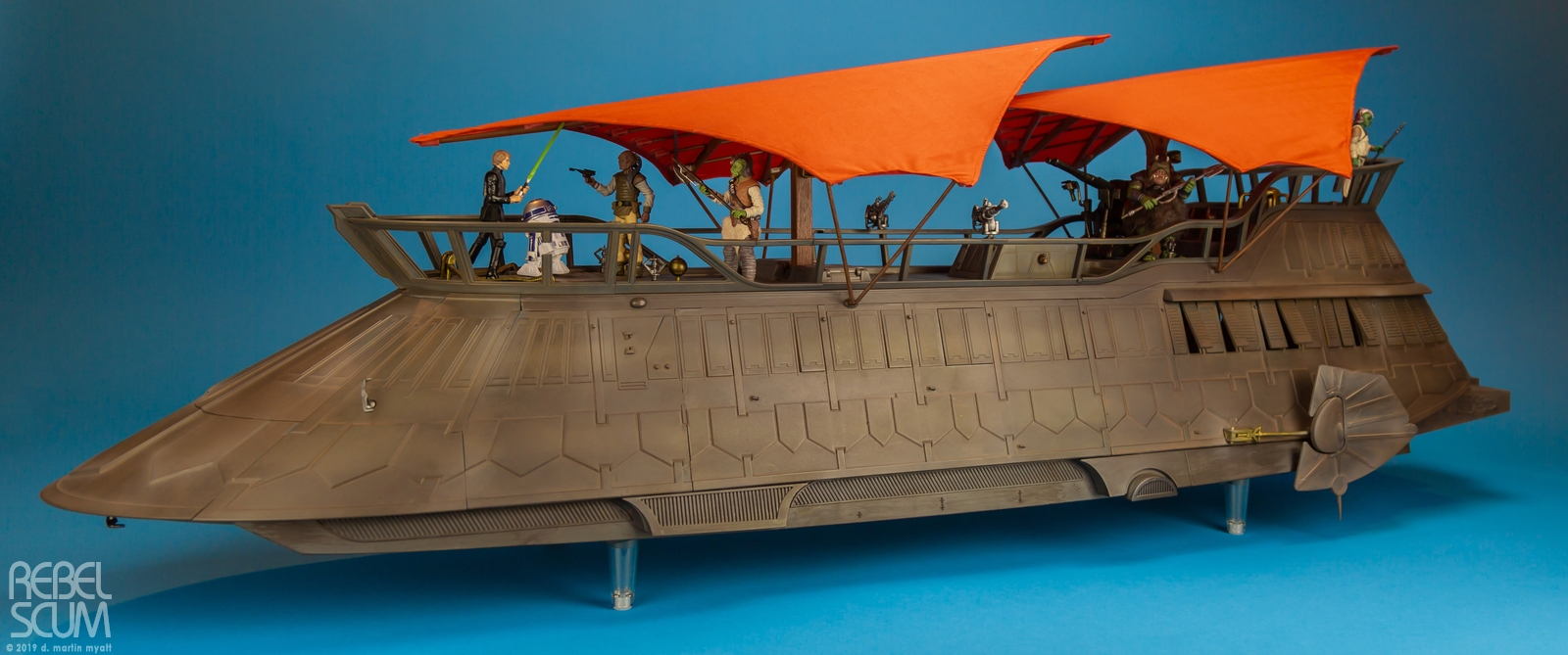 Hasbro The Vintage Collection Jabbas Sail Barge The Khetanna