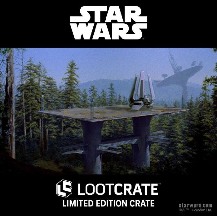 Loot Crate Star Wars Endor