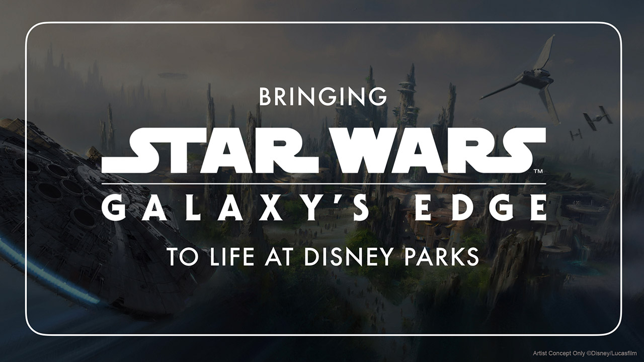 Star Wars Galaxy's Edge Panel