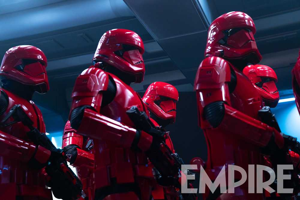 Red Sith Troopers from Star Wars the Rise of Skywalker