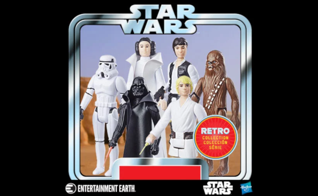 Star Wars The Retro Collection Action Figures Wave 1 Case Set of 6
