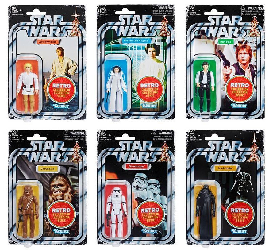 Star Wars Retro Action Figure Line