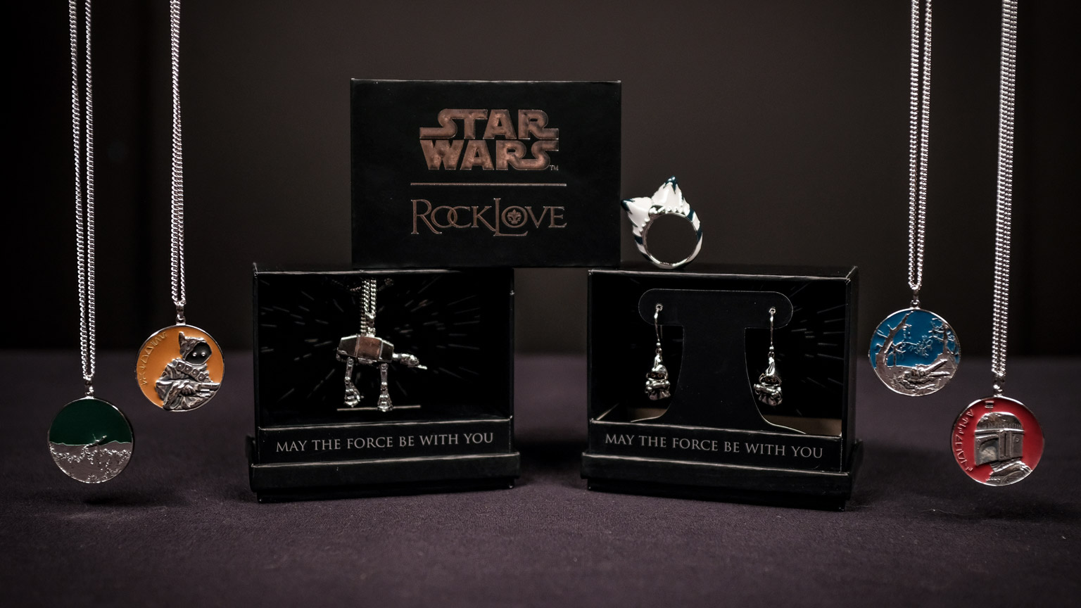 Rocklove Collaborates With Disney And Lucasfilm For New Star Wars Jewelry Collection