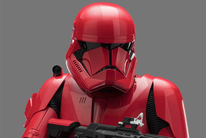 red sith trooper hasbro six inch black series