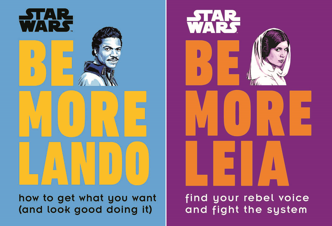Star Wars Be More Lando Leia