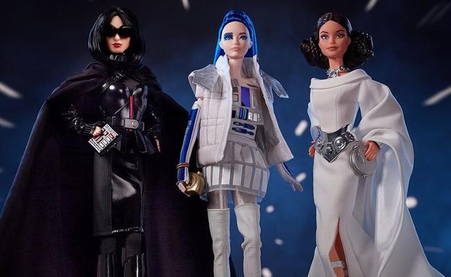 Star Wars Barbie Dolls