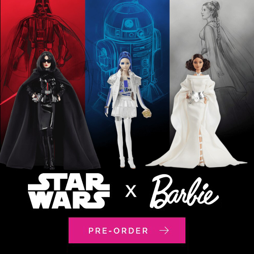 Star Wars Barbie Entertainment Earth