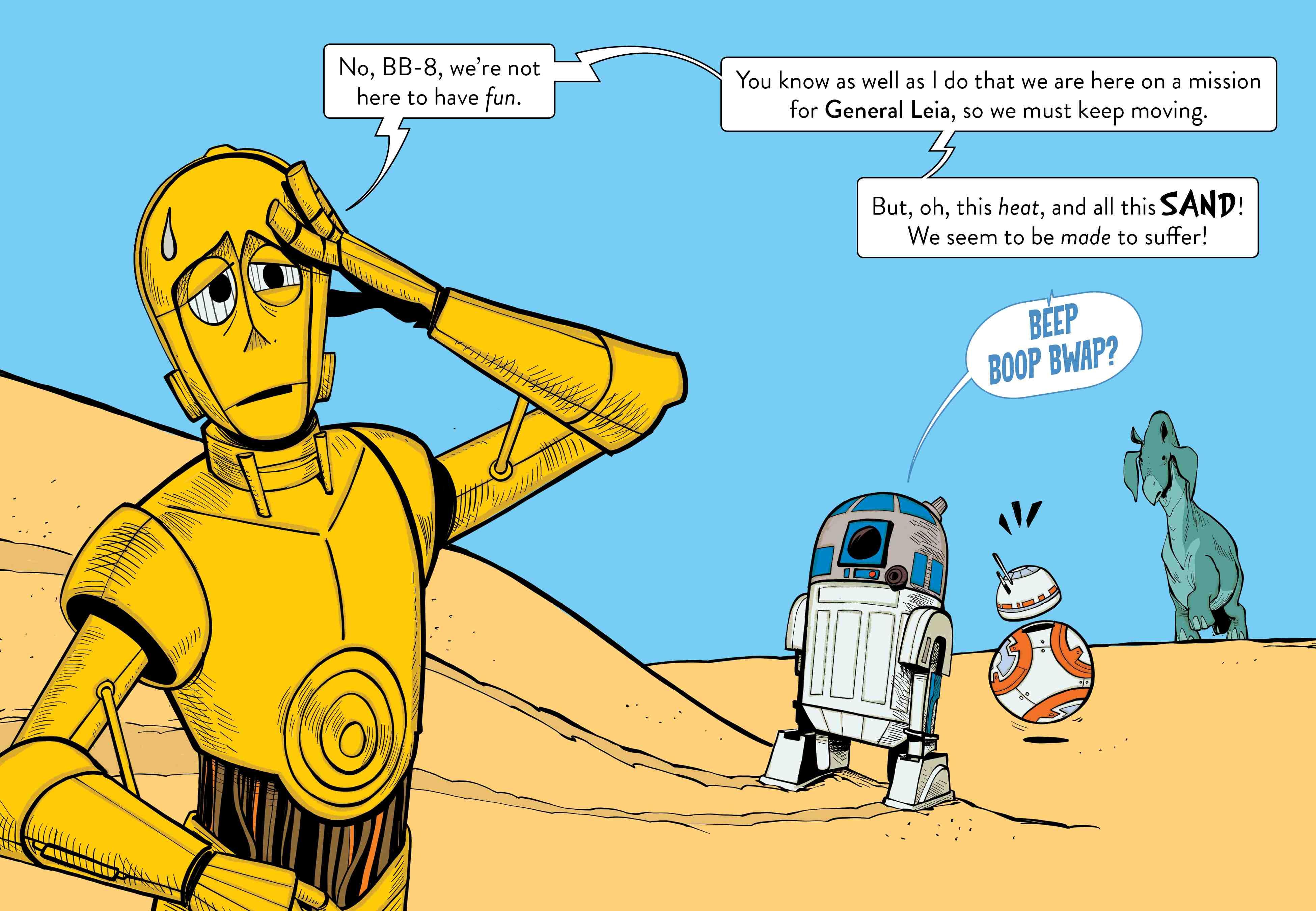 Star Wars C-3PO Sand