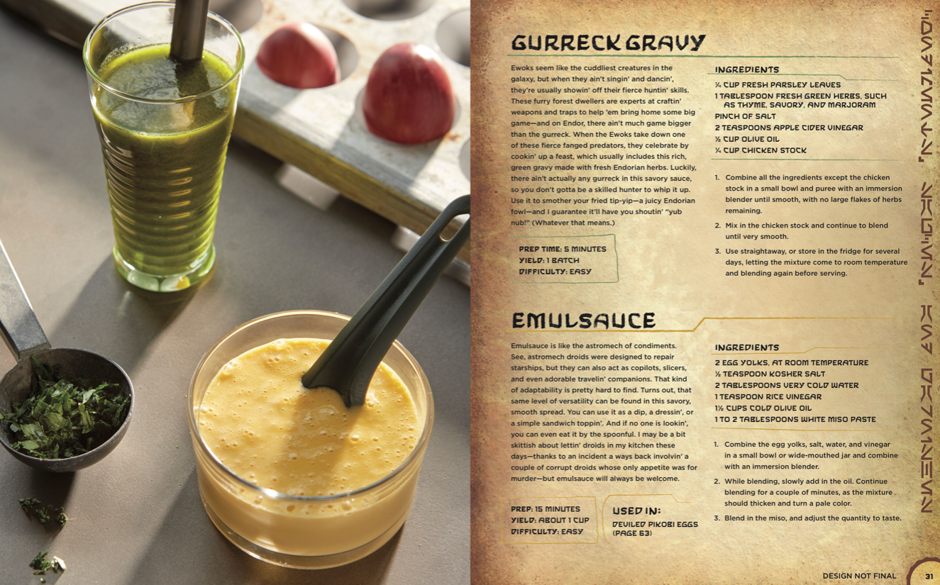Star Wars Galaxy's Edge Cookbook
