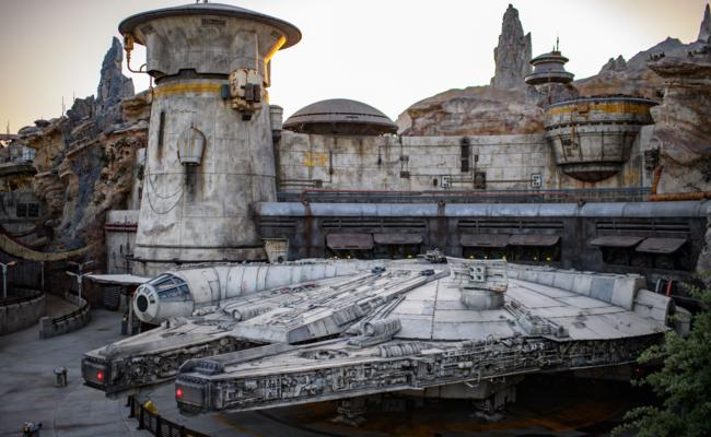 Star Wars: Galaxys Edge At Disneyland Drone Footage