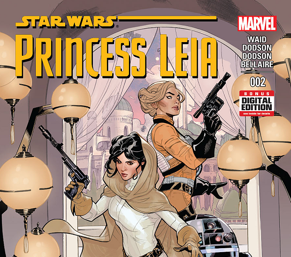 Star Wars Marvel Princess Leia