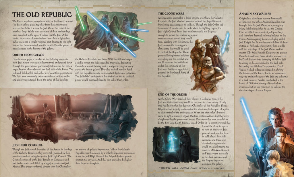 Star Wars Secrets of the Jedi