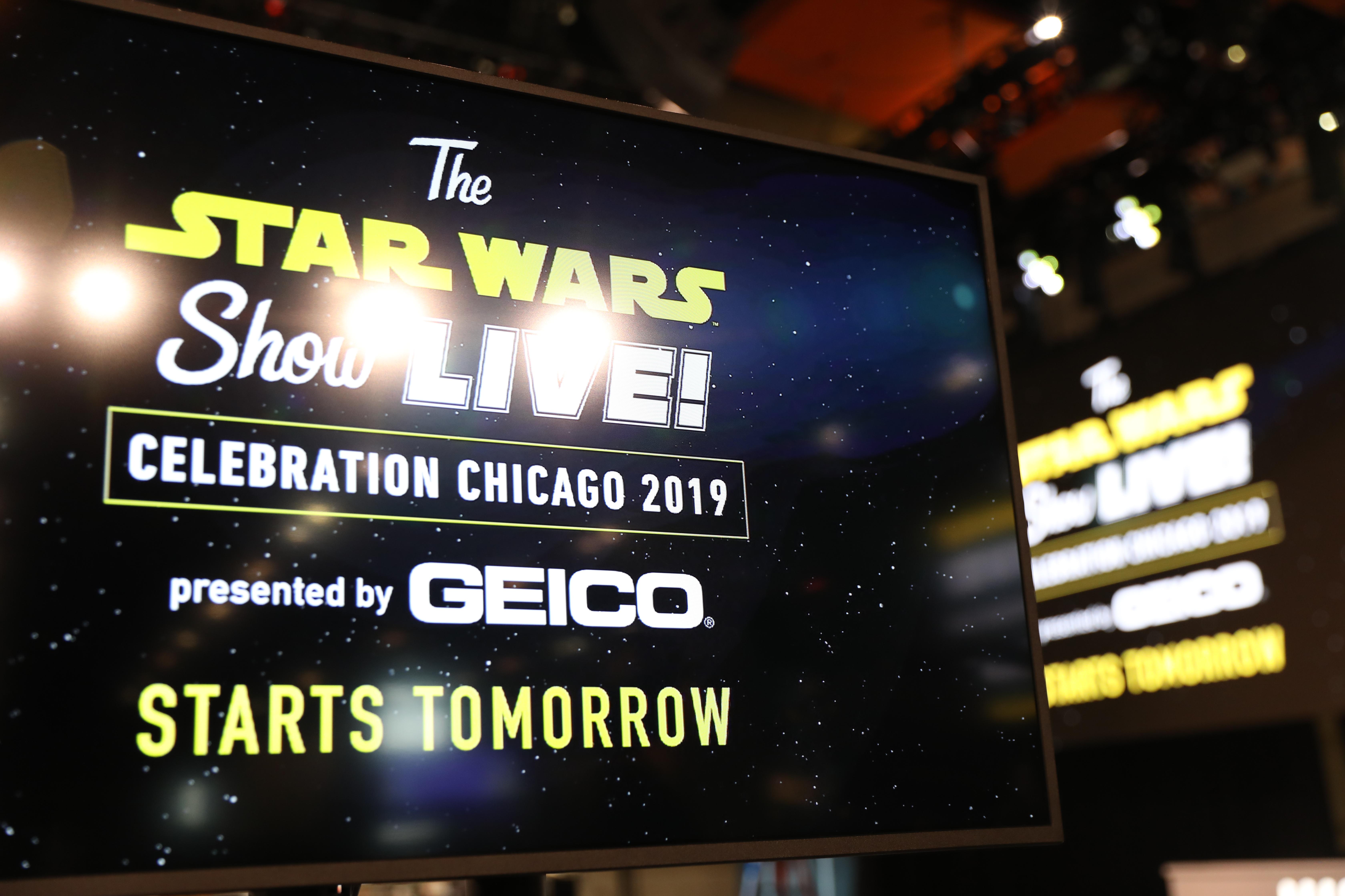Star Wars Show Backstage Celebration 2019