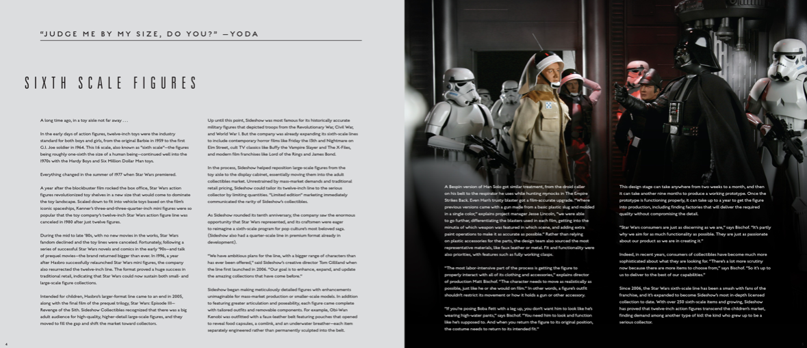 Star Wars Sideshow Collectibles Book