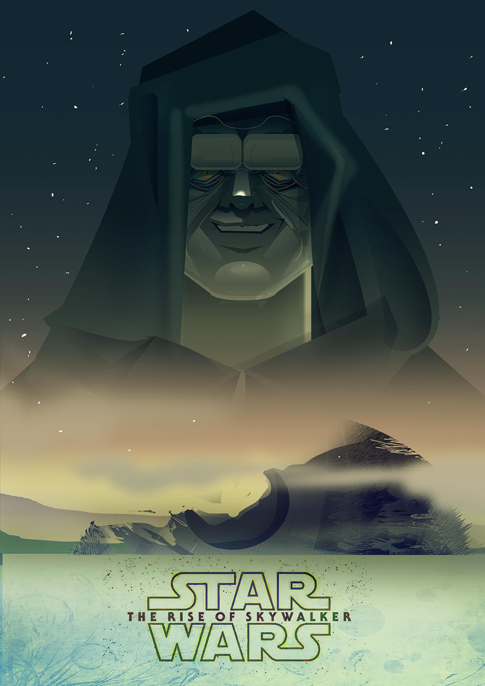 Star Wars The Rise Of Skywalker art by Cristhian Hova