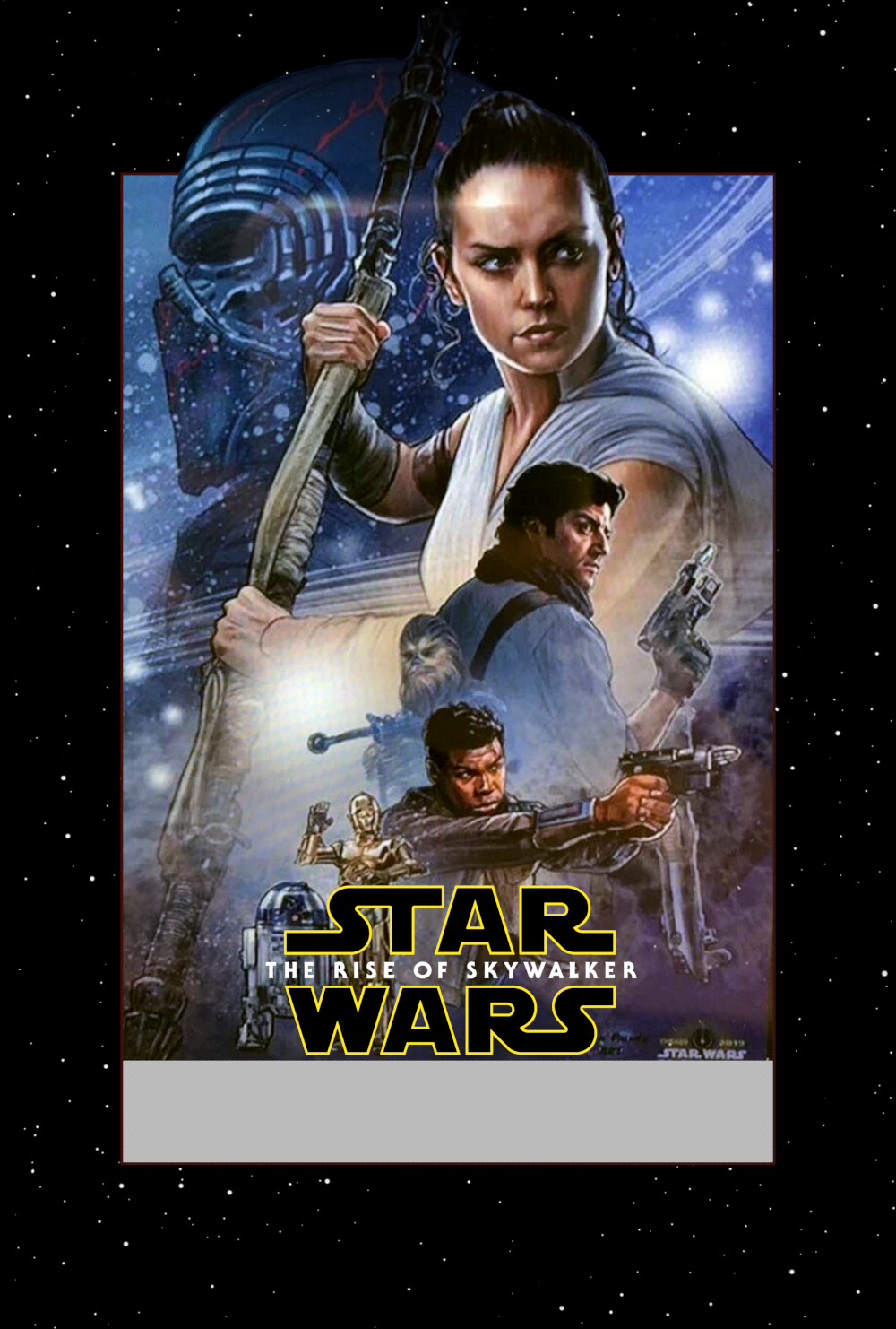 star wars the rise of skywalker art by unknown artist
