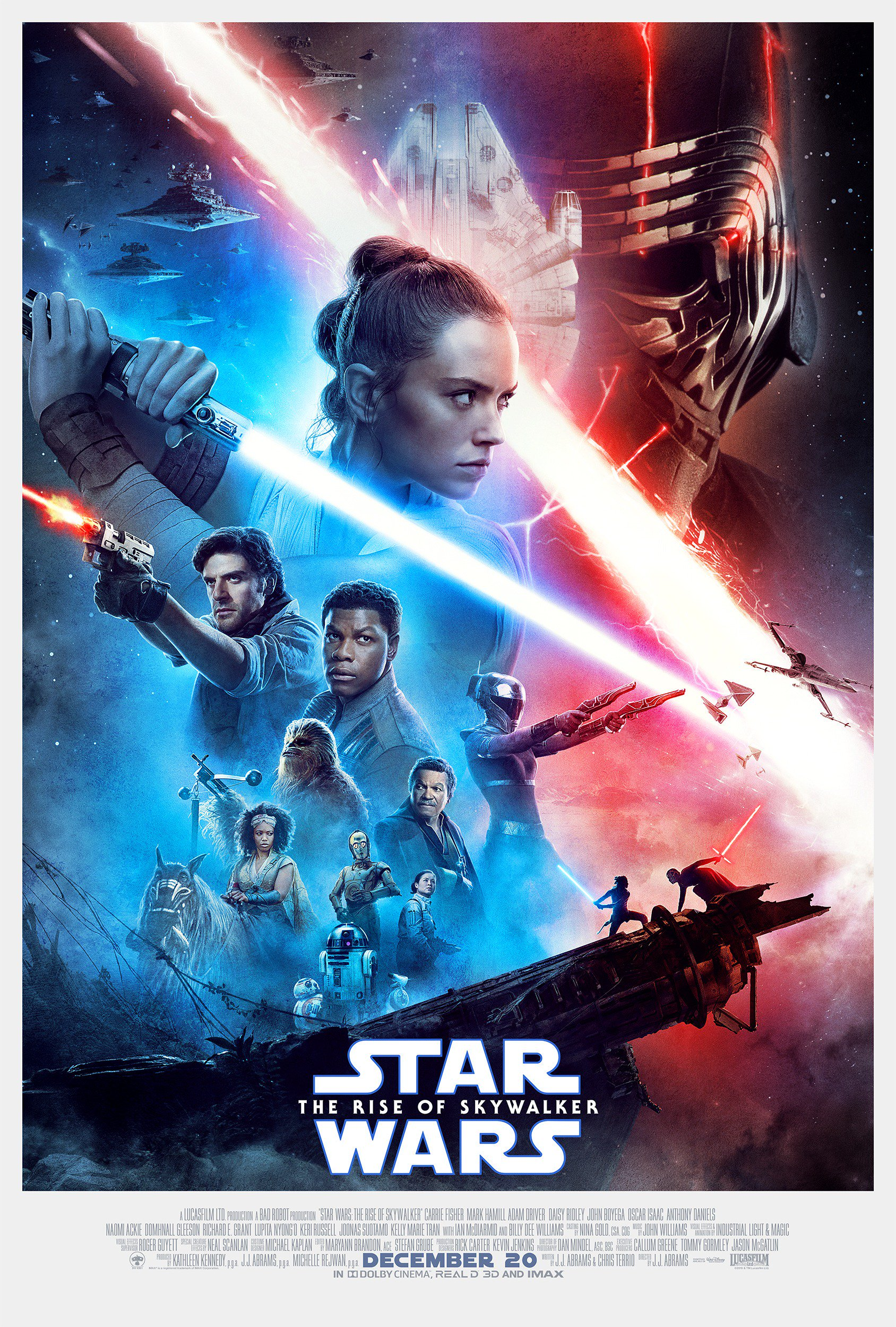 New Theatrical Poster Revealed For Star Wars The Rise Of Skywalker