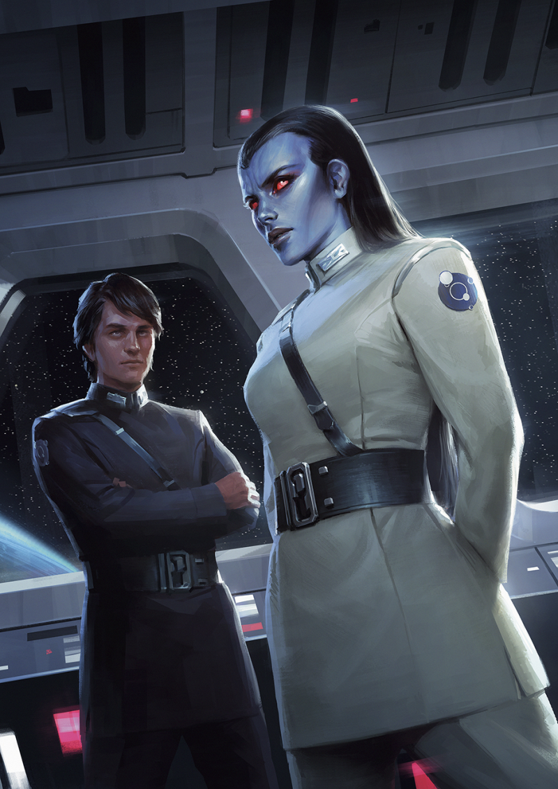Star Wars Thrawn Treason Darren Tan