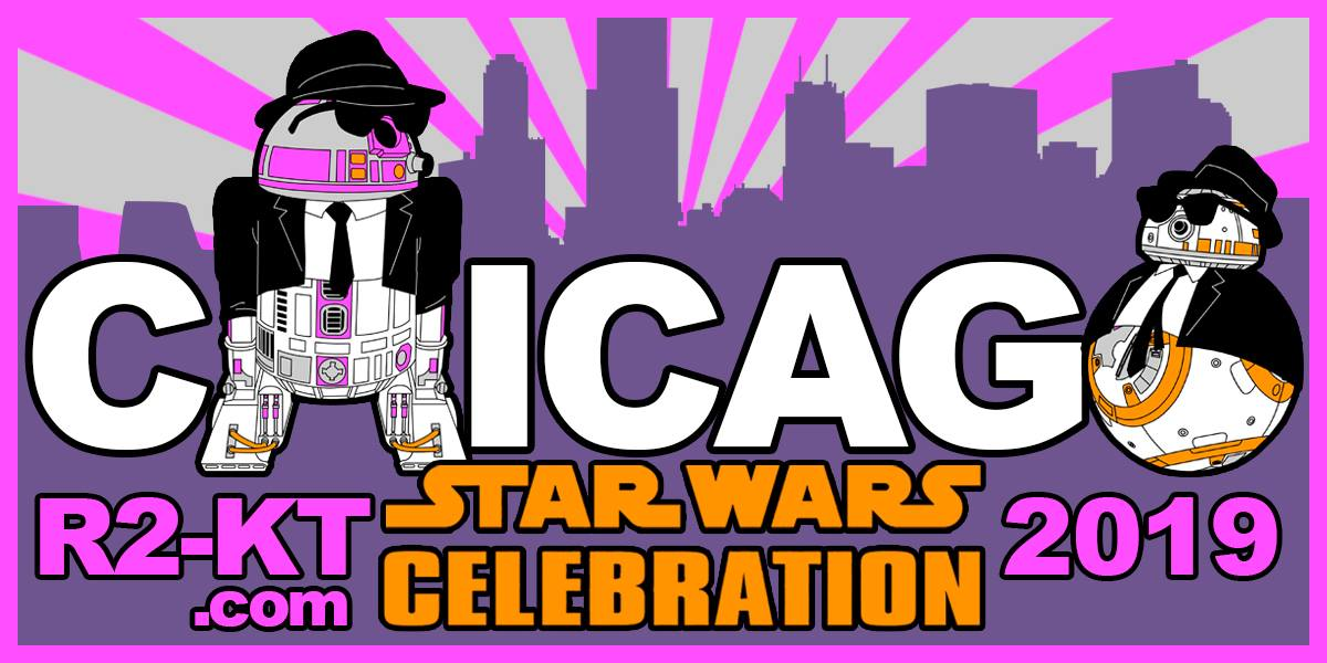 R2-KT Celebration Chicago Mission Patch