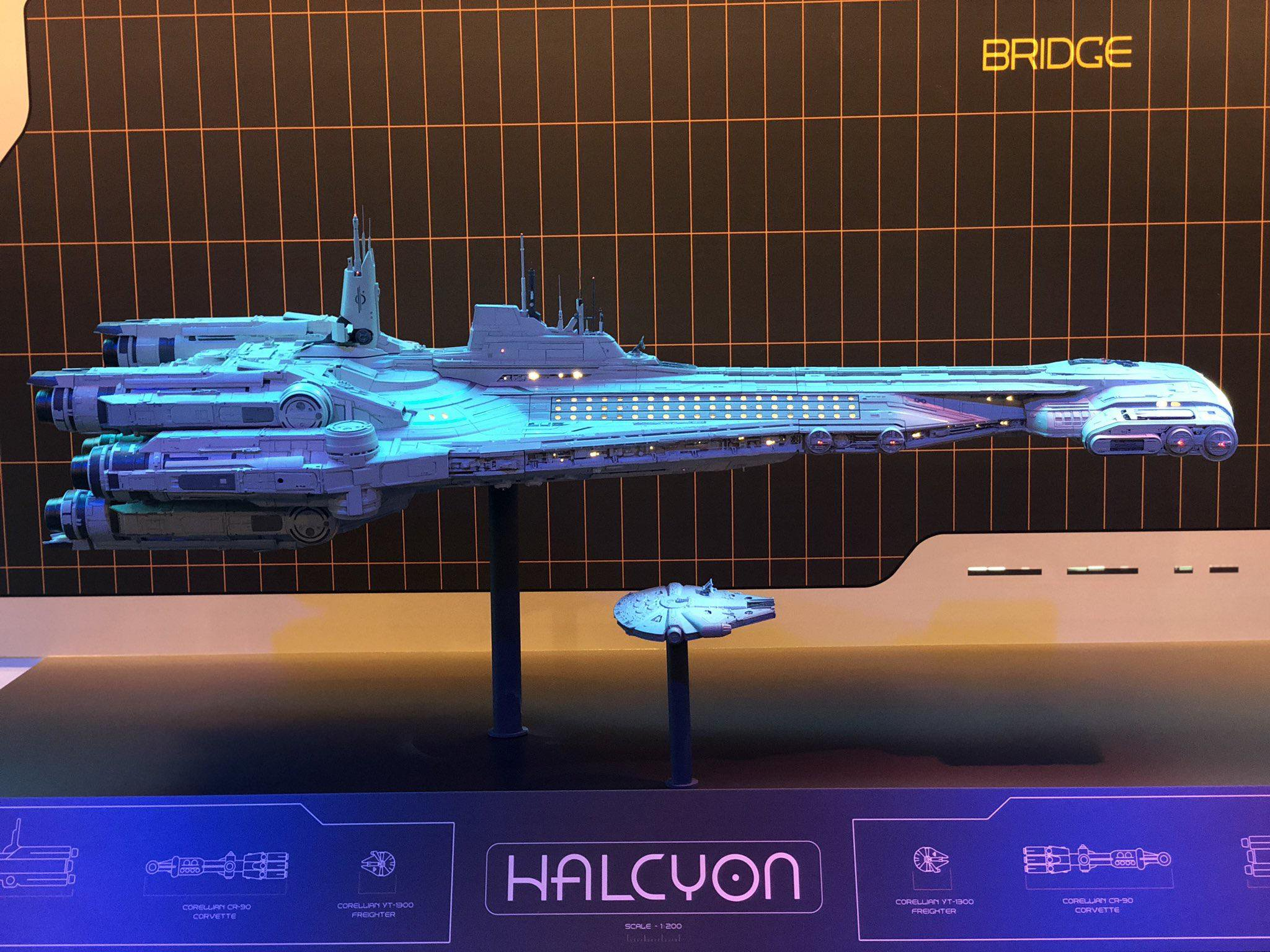 Disney Star Wars Galactic Starcruiser the Halcyon