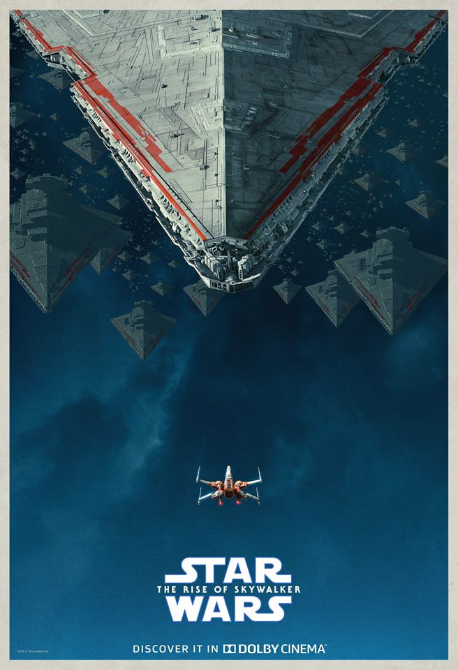 The Rise Of Skywalker Poster From Dolby Cinema