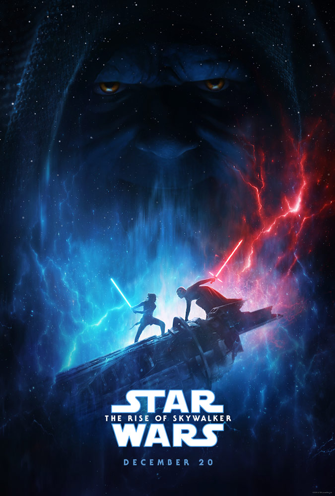 Star Wars The Rise Of Skywalker Poster From D23