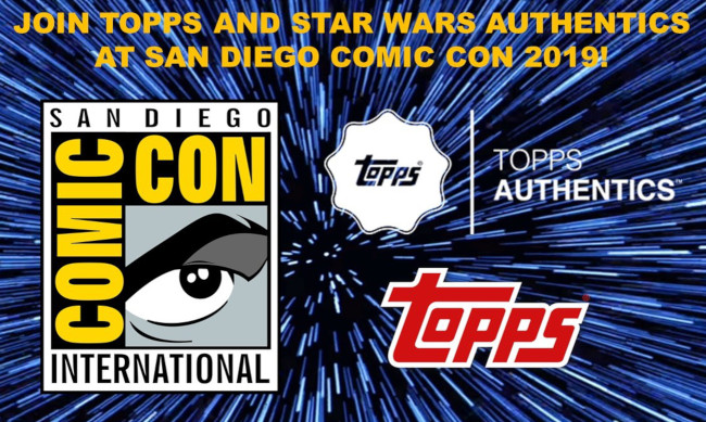 Star Wars Authentics will be at San Diego Comic Con at Booth 2913