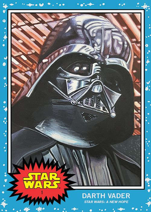 Topps Star Wars Living Series Card 1
