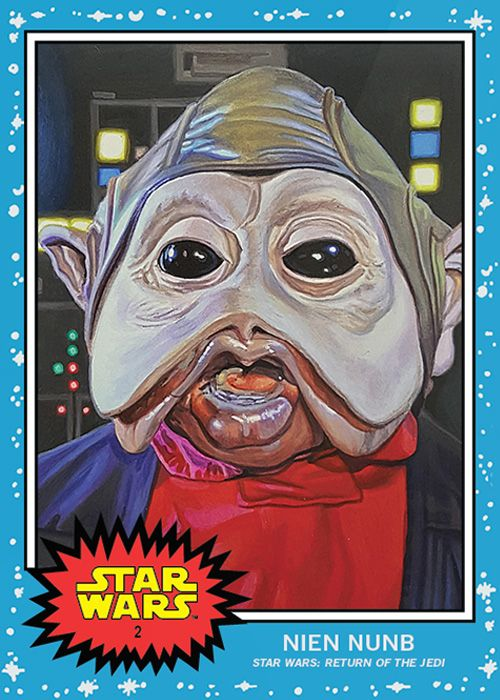 Topps Star Wars Living Series Card 2