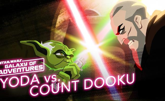 Yoda Vs. Count Dooku - Size Matters Not