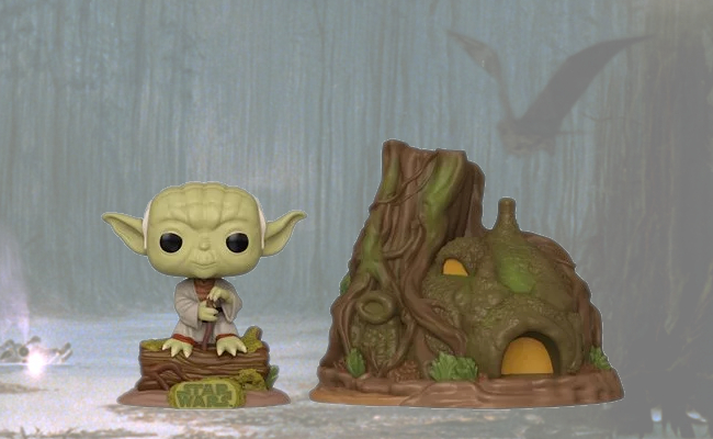 Star Wars Yodas Hut Pop Town By Funko