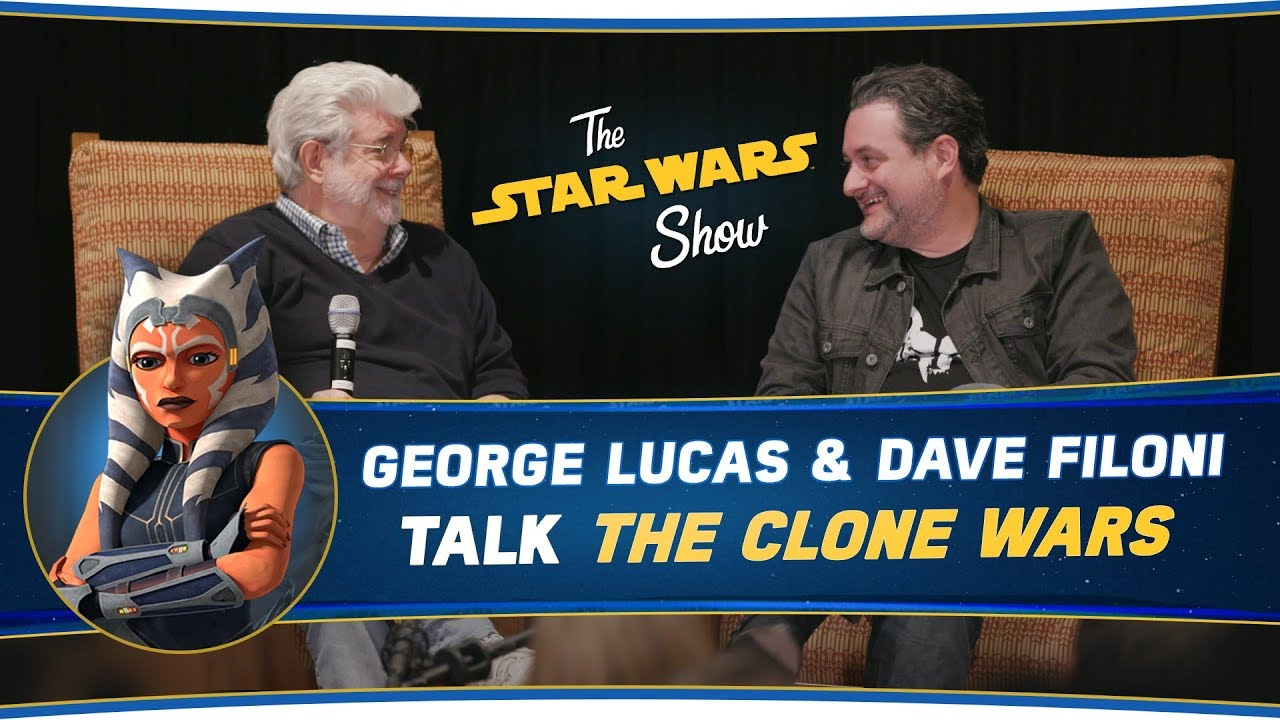 George Lucas and Dave Filoni