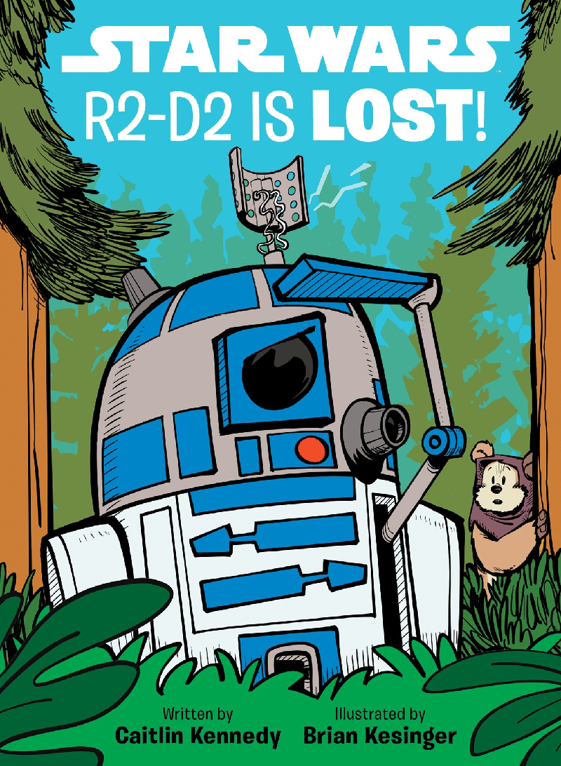 Star Wars R2D2 Lost