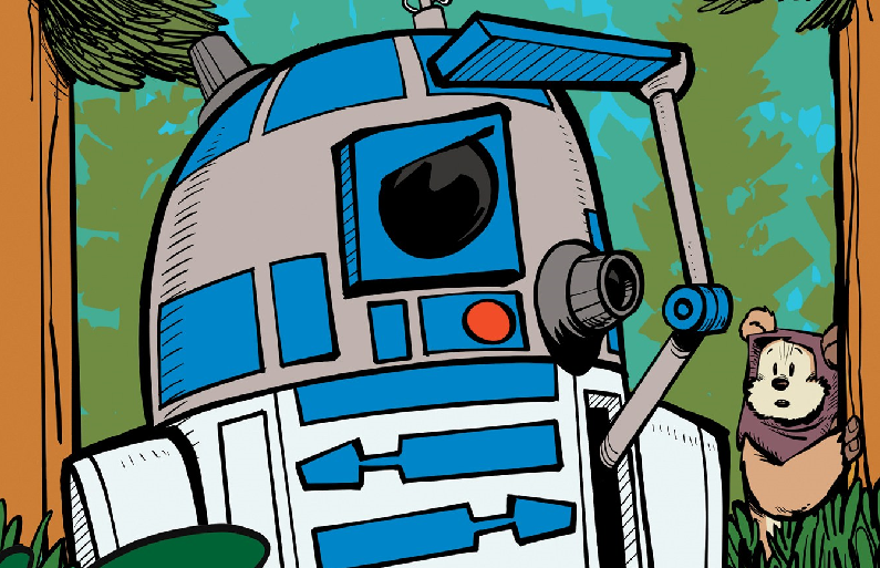 Star Wars R2D2 Is Lost